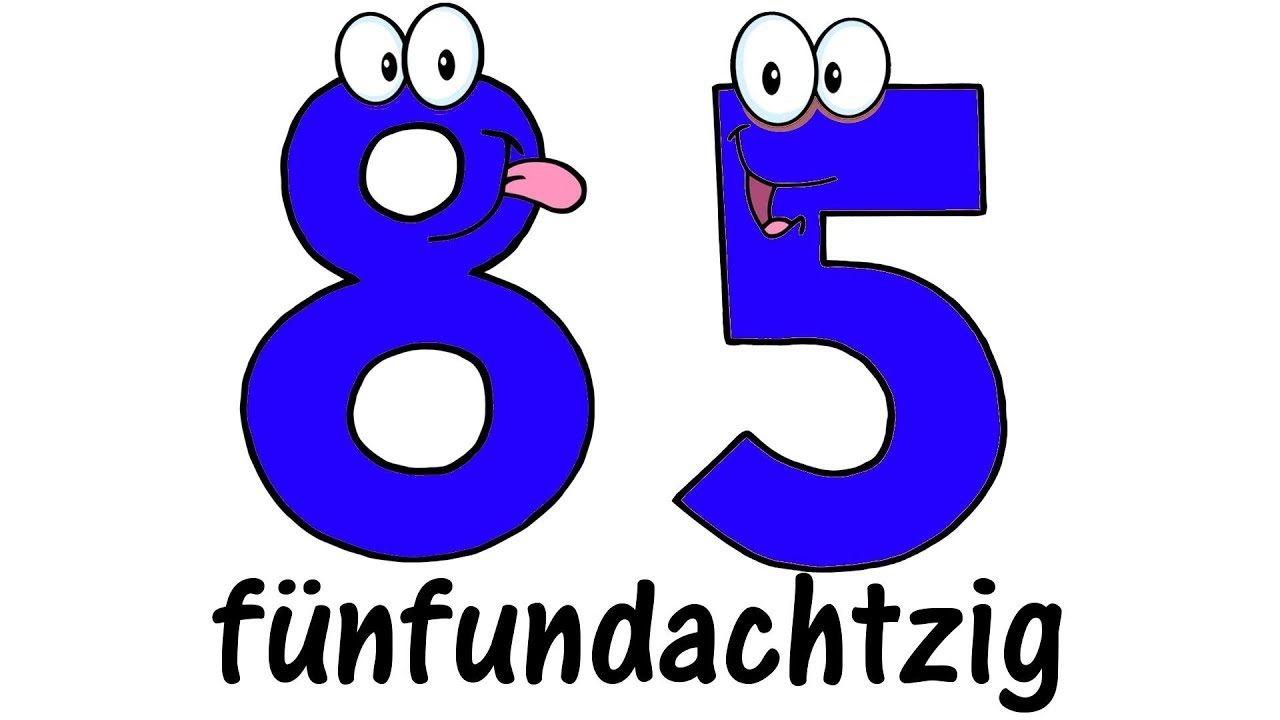 Learn German Numbers From 1 To 999999 And Its Pronunciation